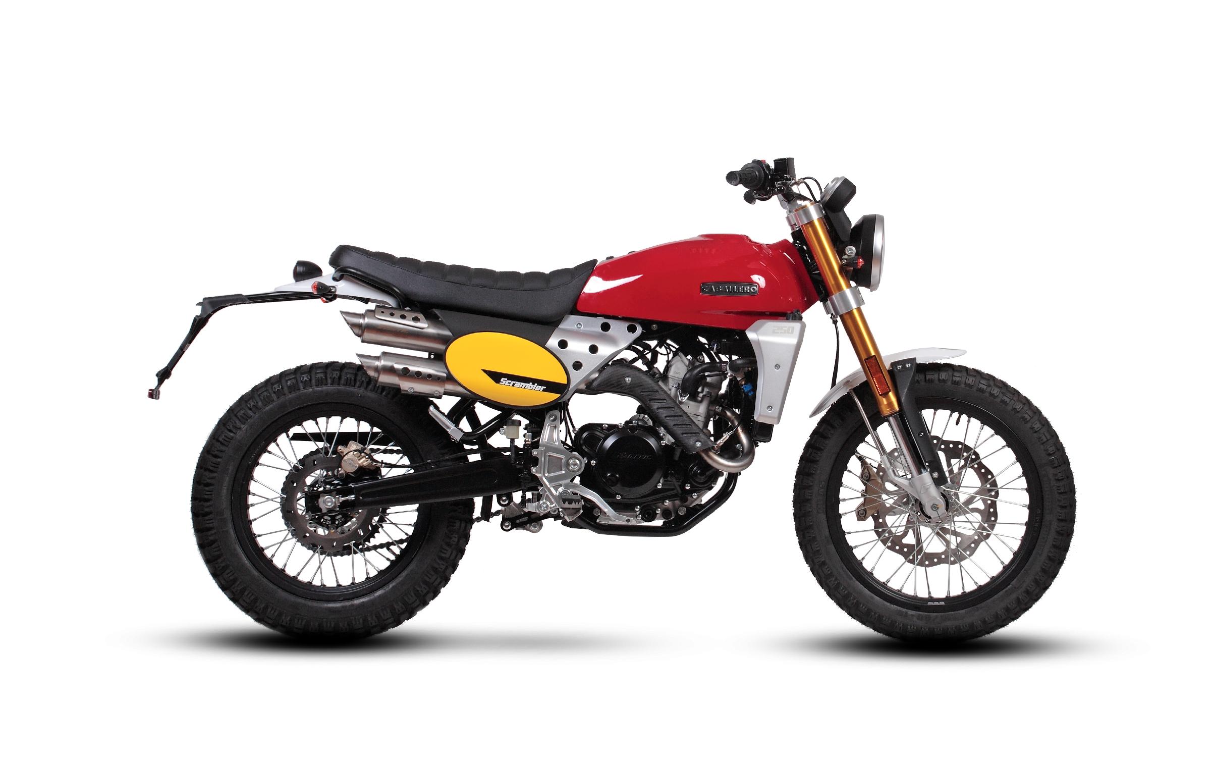 Noleggio Moto Caballero Scrambler 500cc Hotel Posta